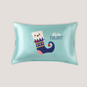 Cute Sockies Single Side Silk Pillowcase、Luxury Silk Life