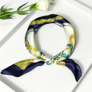 19 Momme Romantic Printed Silk Scarves、REAL SILK LIFE
