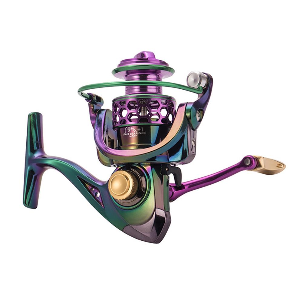 Metal Sea Fishing Reel High Speed 4.7:1 Bearing 9+1BB Outdoor Fish Wheel, 501 Original, Cesdeals, FORCE MASTER1000  - buy with discount
