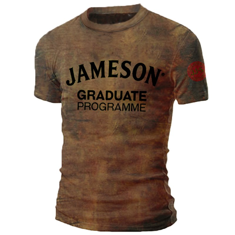 Mens Jameson Irish Whiskey Print T-shirt / [viawink] /
