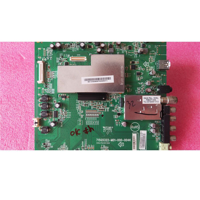 Changhong Led32919 Main Board 715g5322-m01-000-004k with Screen TPT315B5-WX221 - Cakeymall
