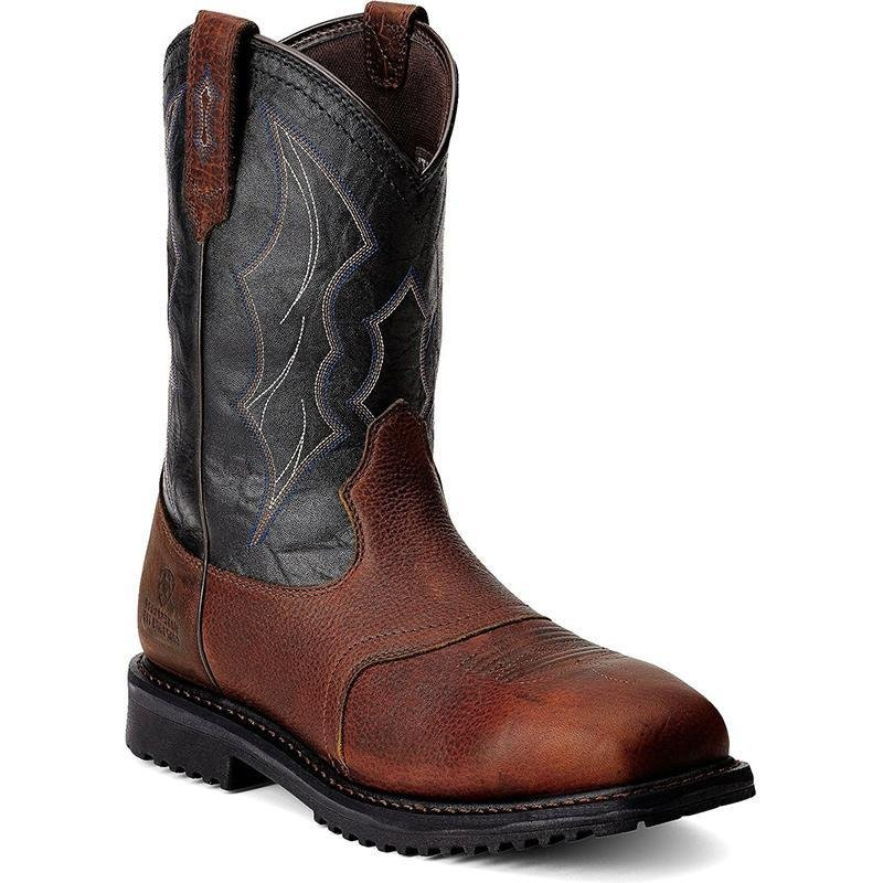 Atonlove™-Men'S Wide Square Toe Work Bootsmysite