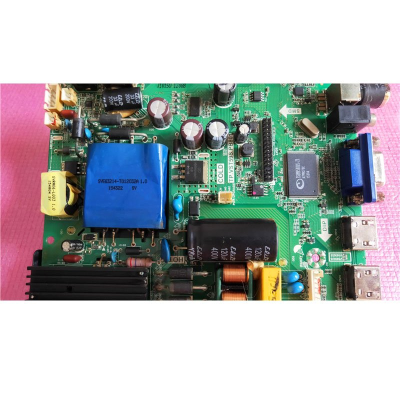 HPP Motherboard Tp. Vst59s. Pb801 with Screen Lc430duy 60v-70v/300*2 - Cakeymall