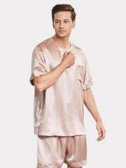 22 Momme High Quality Classic Short Silk Pajamas For Men、Real Silk Life