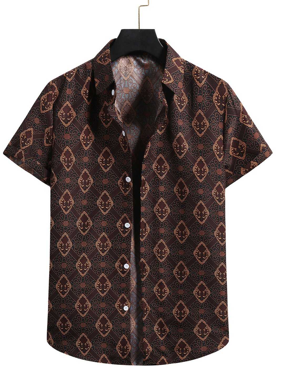 Mens Printed Hawaii Shirt / [viawink] /