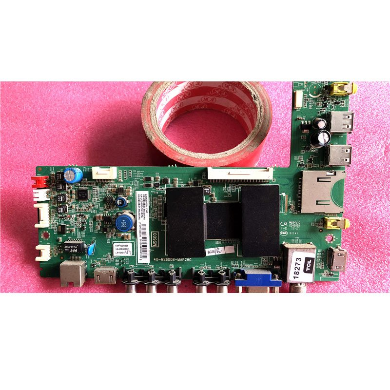 TCL L50E5000A Motherboard 40-MS600B-MAC2HG Screen V500HJ1-LE1 - Cakeymall