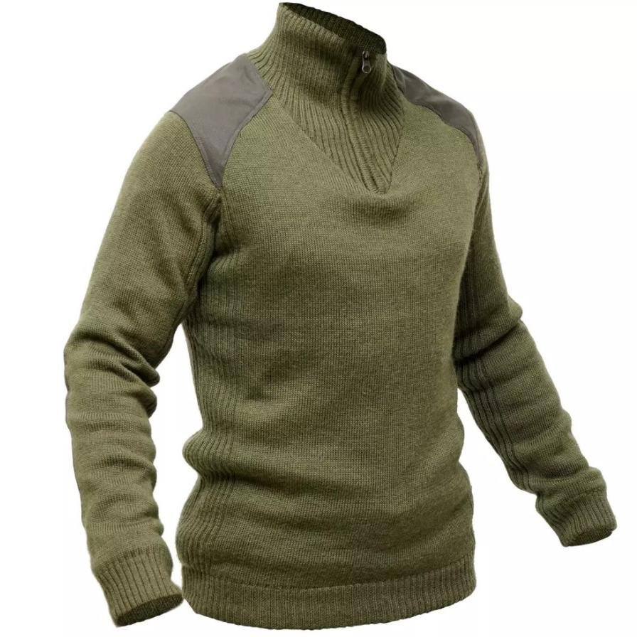 Mens Outdoor Breathable And Warm Knitted Sweater / [viawink] /