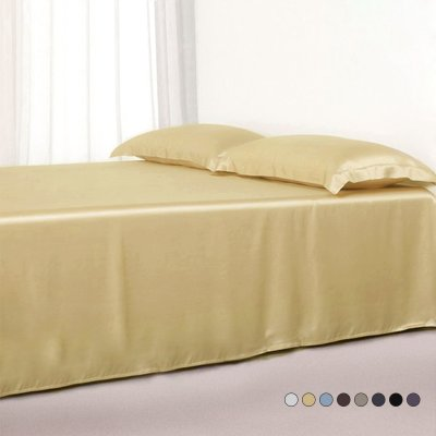 22 Momme Silk Flat Sheets、Real Silk Life