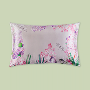 Lavender Dream Single Side Silk Pillowcase、Real Silk Life