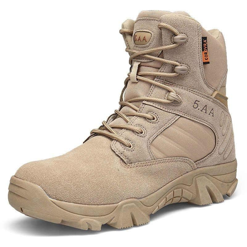 Atonlove™-Male Quality Special Forces Tactical Desert Combat Ankle Boots Military Shoesmysite