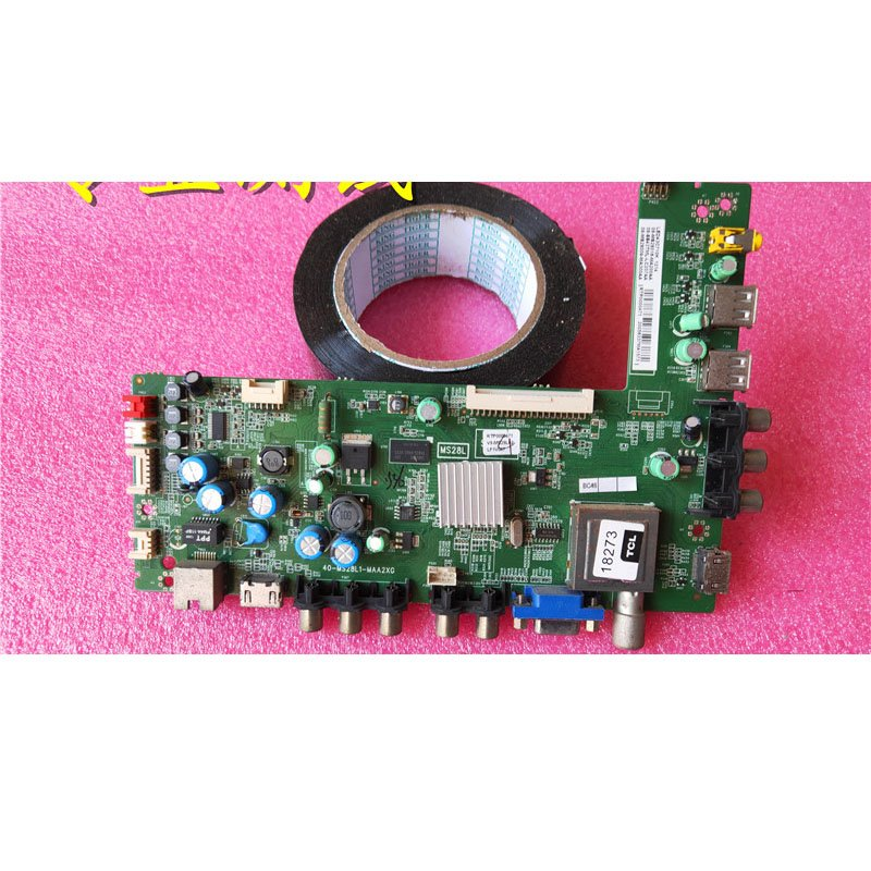 Lehua Led43c710k Main Board 40-ms28l1-maa2xg Screen Lvf430ndal - Cakeymall