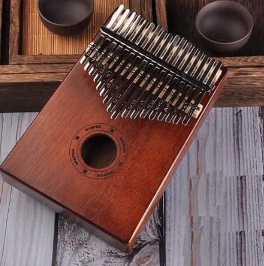 Beautiful Premium 17 Key Mahogany Kalimba