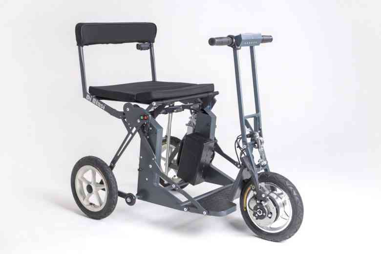 R30 Di Blasi, an ingenious electric and folding device for people with reduced mobility
