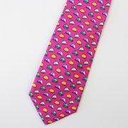 Cap Fever Pink Silk Tie、Real Silk Life