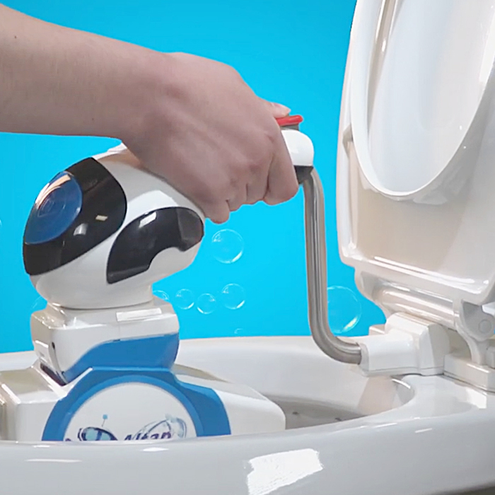 automatic toilet cleaner machine