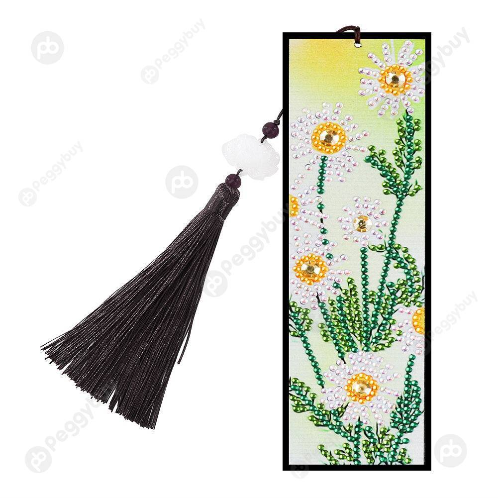 Peggybuy coupon: Sunflowers-DIY Creative Diamond Tassel Bookmark