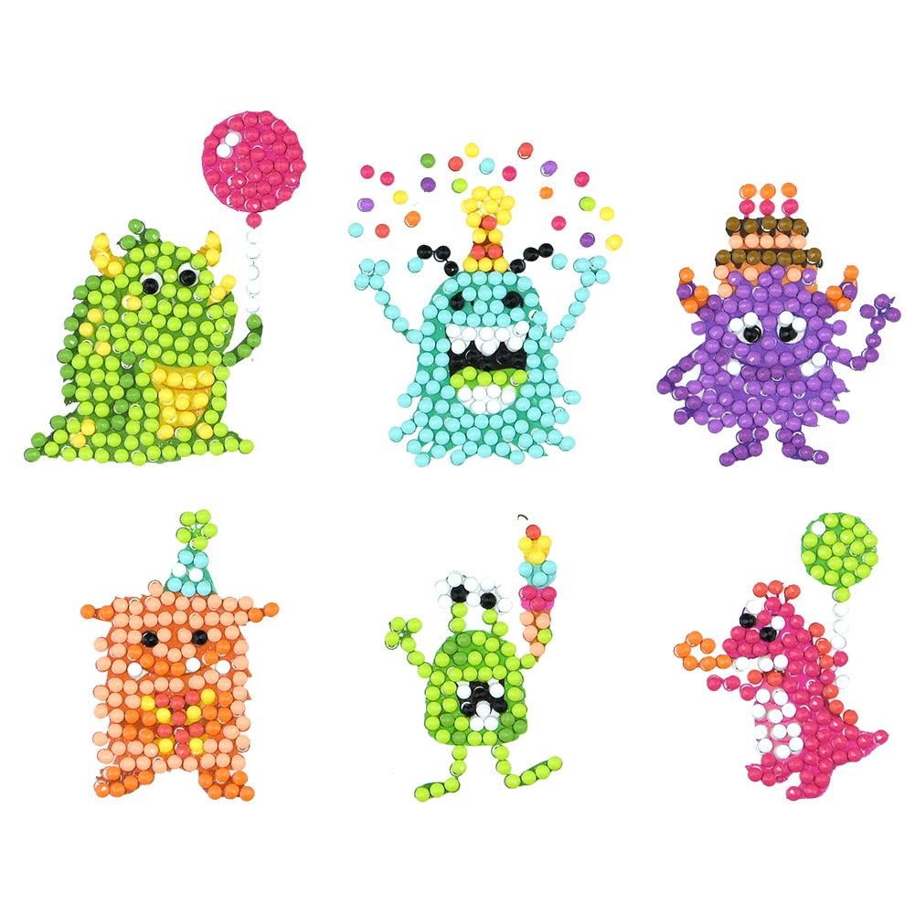 Peggybuy coupon: 6pcs Horse- 5D DIY Craft-Sticker