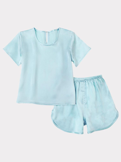 Comfy Silk Pajamas Set For Kids、Real Silk Life
