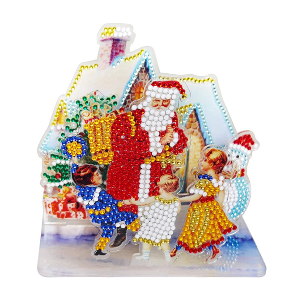 Peggybuy coupon: Santa with Kids- 5D DIY Craft-Sticker