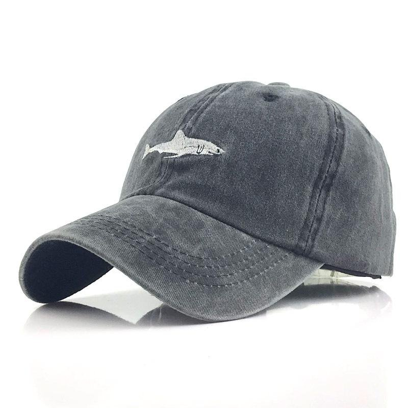 Outdoor washed denim embroidery cap / [viawink] /