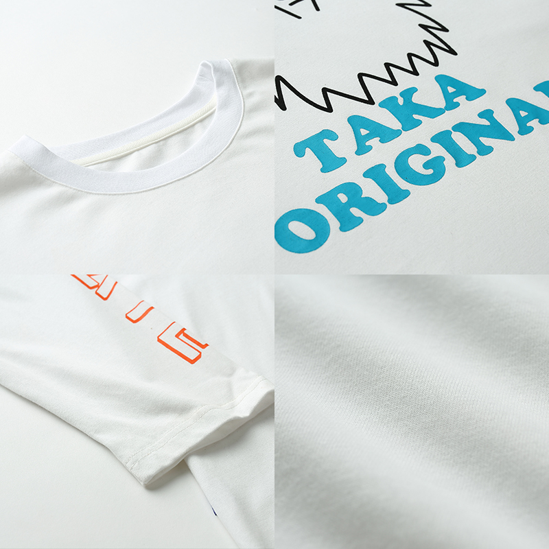Shop Taka Original unisex unique original short cotton short sleeves crew neck t-shirt in a wide range of styles and colors designed for comfort and fashion