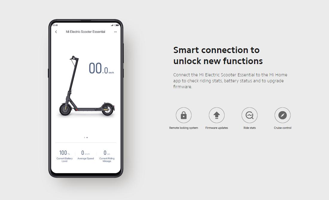 Xiaomi Mi Elektroroller Essential Lite - Globale Version