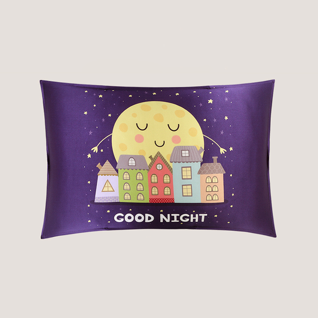 Papa Moon Single Side Mulberry Silk Pillowcase For Kids Envelope Closure、Real Silk Life