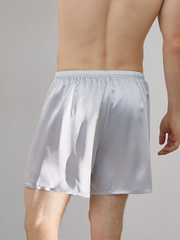 19 Momme Classic Silk Short Pants For Men、Real Silk Life