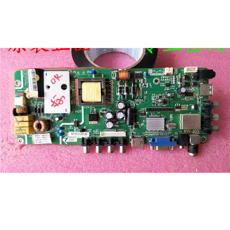 Changhong Led39v2 Motherboard Mv59x15.s055. 001 with Screen T390xvn01.0 - Cakeymall