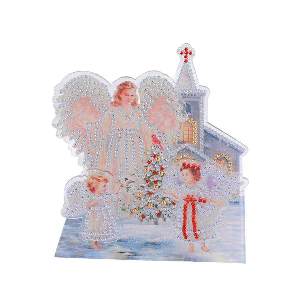 Peggybuy coupon: Angel- 5D DIY Craft-Sticker