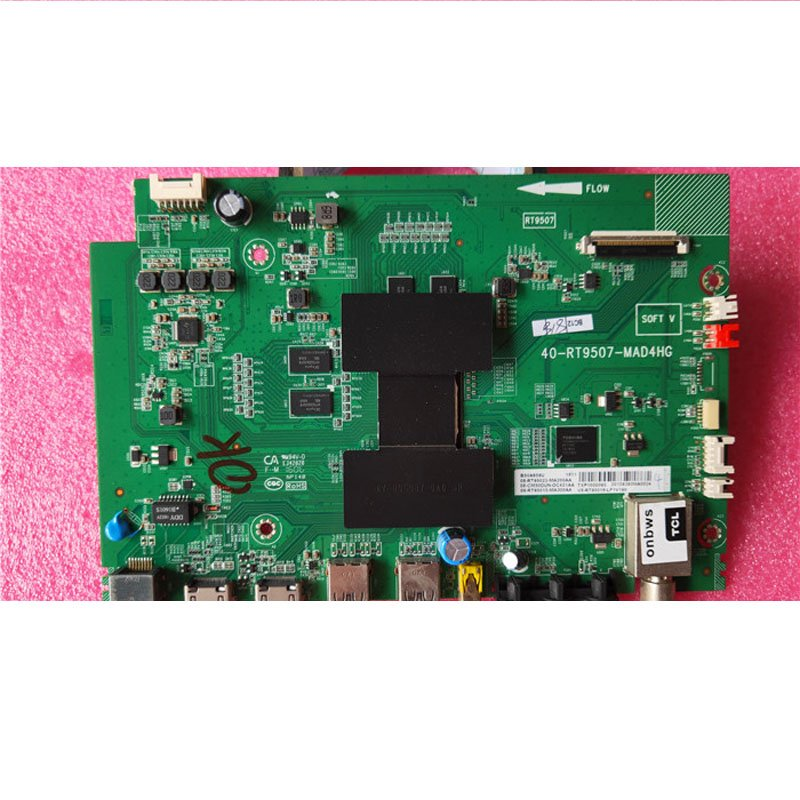 TCL L50E5800A-UD B50a658 Main Board 40-rt9507-mac4hg with Screen Lfu500ndel - Cakeymall