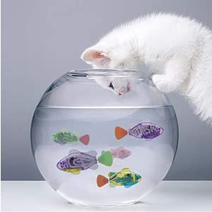 swimming robot fish toys