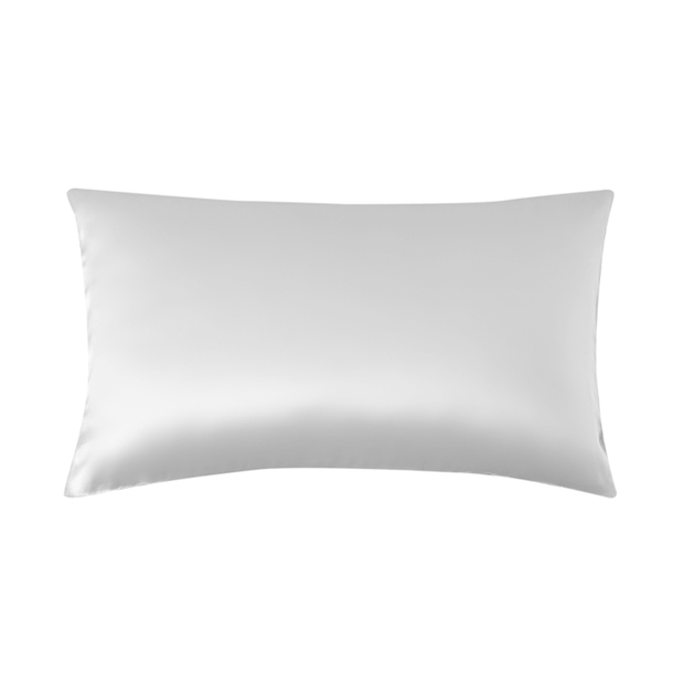 19 Momme Silver Single Side Mulberry Silk Pillowcase | Pillowcases 2pcs、Real Silk Life