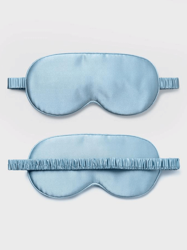 19 Momme 100% Silk Eye Mask、REAL SILK LIFE