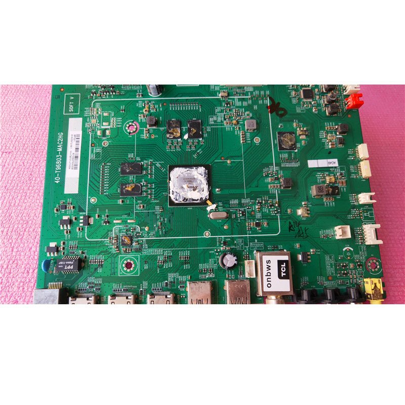 TCL 58e58fq Motherboard 40-t96803-mac2hg Screen Lvu580cm0i Physical Picture - Cakeymall