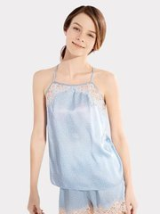 22 Momme High Quality Women's Lovely Lace Short Silk Camisole Set、Real Silk Life