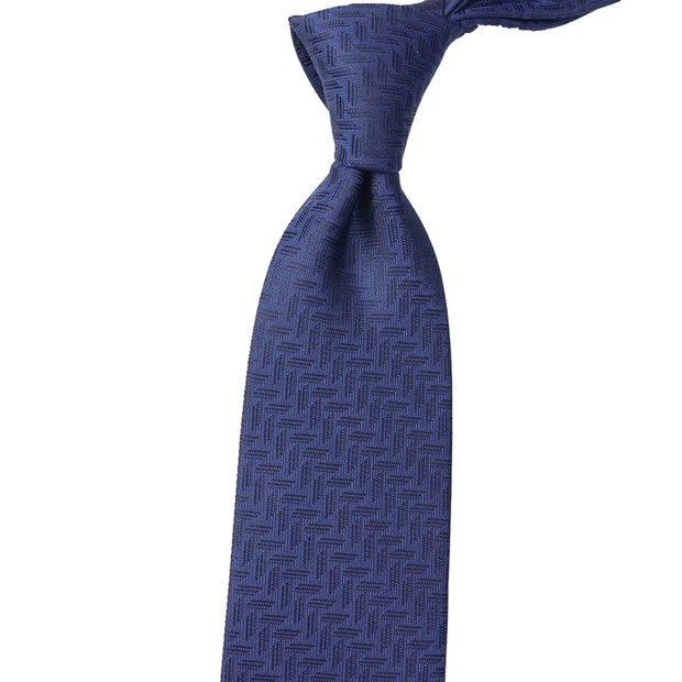 Intersects Flecks Solid Silk Tie、Real Silk Life