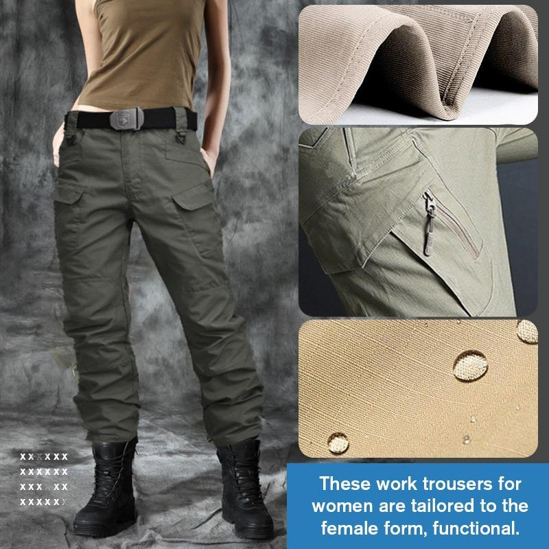Pantalones Tacticos Impermeables Para Mujer