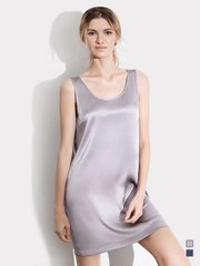 19 Momme Women's Basic Silk Nightgown、Real Silk Life