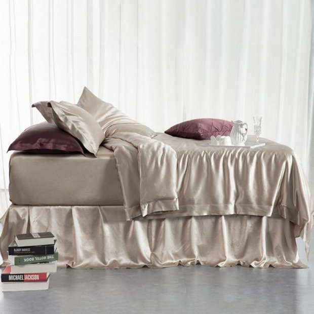22 Momme Silk Duvet Cover for Comforter Duvet、Real Silk Life