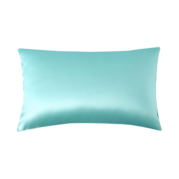 19 Momme Blue Single Side Mulberry Silk Pillowcase | Pillowcases 2pcs、Real Silk Life