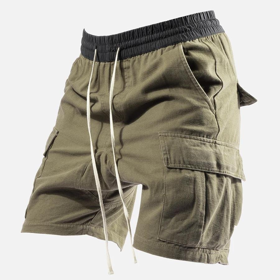 Mens Outdoor Sports Waist Elastic Drawstring Shorts / [viawink] /