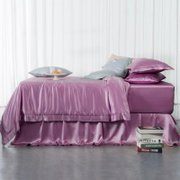 19 Momme Silk Duvet Cover Set | 4pcs、Real Silk Life