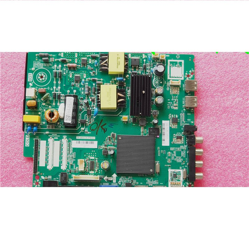 PPTV 32c4 Motherboard Tp. Ms638.pb801 Screen Pt320at01 - Cakeymall