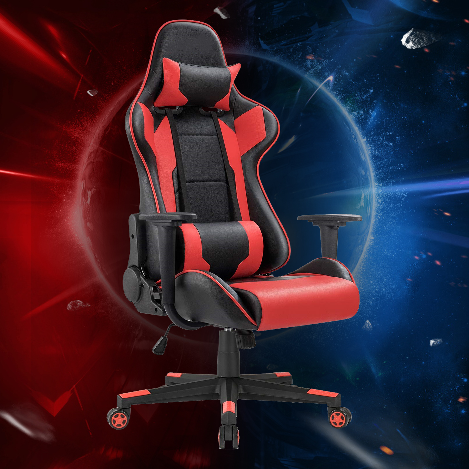 Racing Style Gaming Chair - High back Height Adjustable - $20.35 + $10 shipping