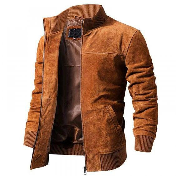 Mens Outdoor Weatherproof Leather Jacket / [viawink] /