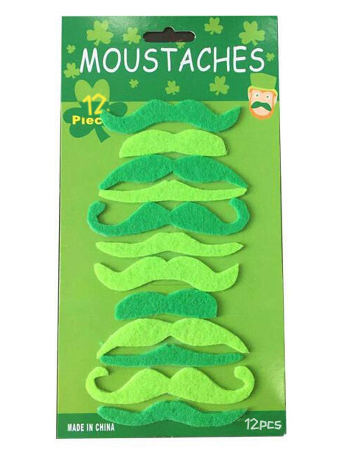 Green St. Patrick's Day Festival Dress-up Beard Props LC011159-9