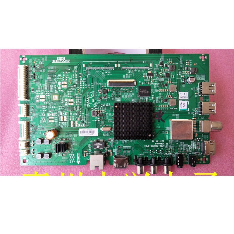 Skyworth 55m9 Motherboard 5800-a8h260-0p00 with Screen LC550EGY-SKM3 - Cakeymall