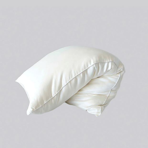 Silk Filled Pillow With Silk Shell、Real Silk Life