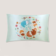 Sweet Nest Single Side Mulberry Silk Pillowcase For Kids Envelope Closure、Luxury Silk Life